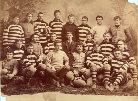 vintage rugby team